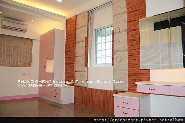高雄室內設計-阿蓮 農舍改建 主臥室4