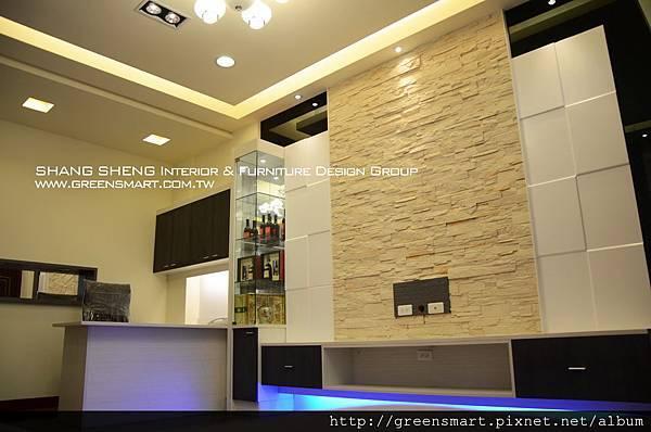 高雄室內設計-阿蓮 農舍改建 客廳2