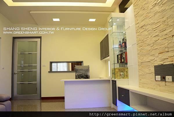 高雄室內設計-阿蓮 農舍改建 客廳3