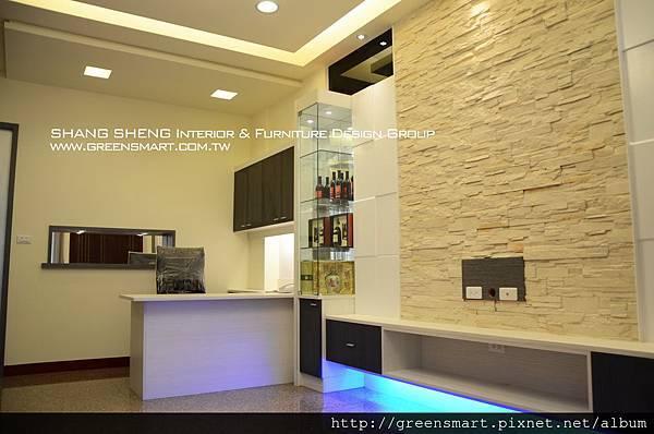 高雄室內設計-阿蓮 農舍改建 客廳4