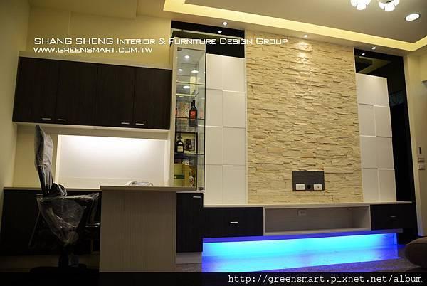 高雄室內設計-阿蓮 農舍改建 客廳6