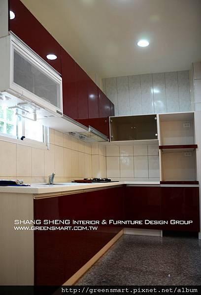 高雄室內設計-阿蓮 農舍改建 廚房1