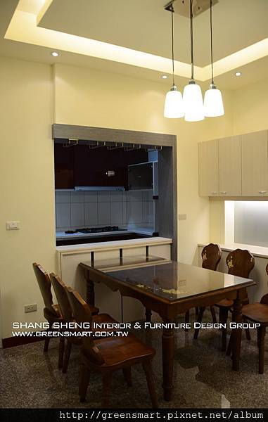 高雄室內設計-阿蓮 農舍改建 餐廳1