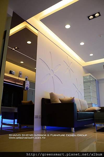 高雄室內設計-左營 京城四季 3客廳