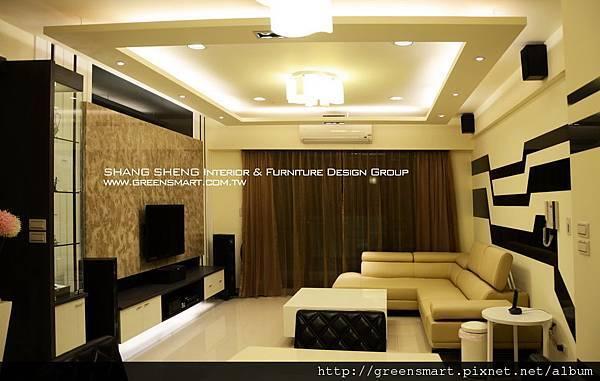 高雄室內設計-W建築  2客廳