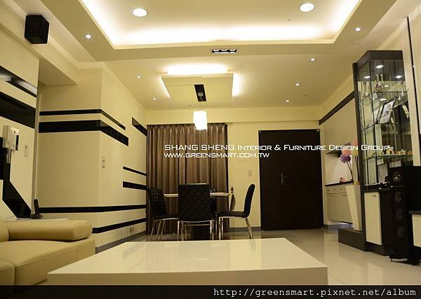 高雄室內設計-W建築  3客廳