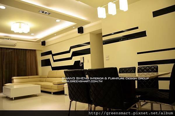 高雄室內設計-W建築  4客廳