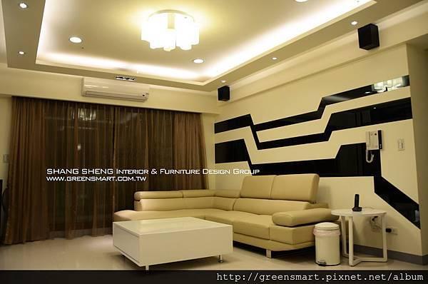 高雄室內設計-W建築  5客廳