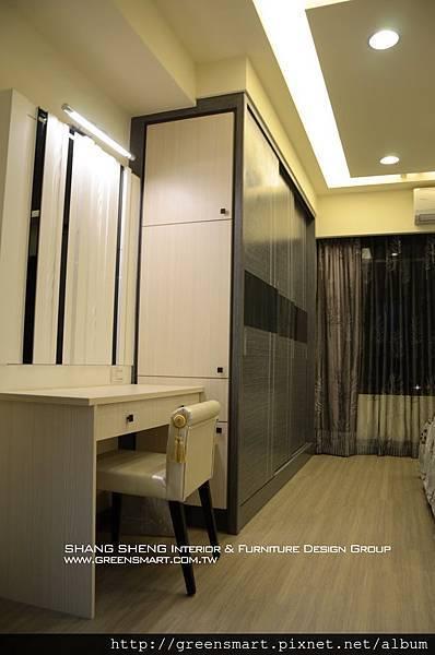 高雄室內設計-W建築  7主臥室