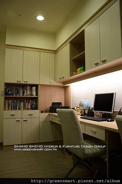 高雄室內設計-W建築  12書房