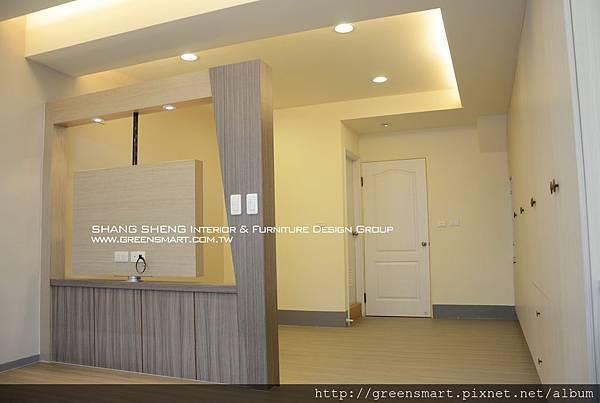 高雄室內設計- 榮總透天--主臥室2