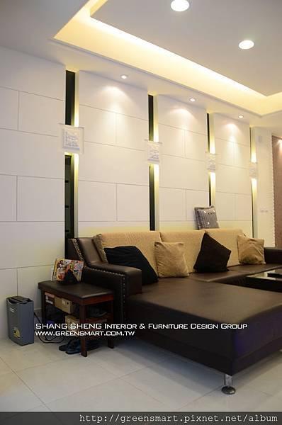 高雄室內設計- 榮總透天--客廳4