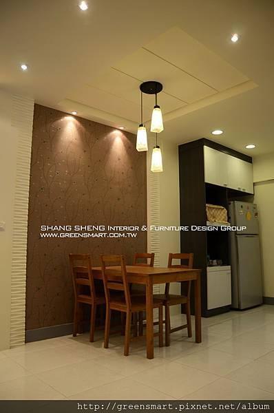 高雄室內設計- 榮總透天--客廳8