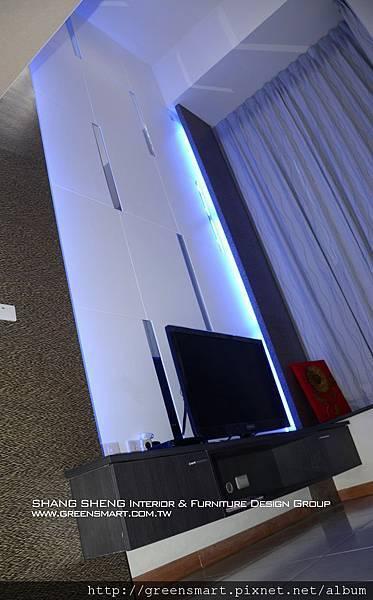 台南室內設計- 高岡屋大樓--客廳4