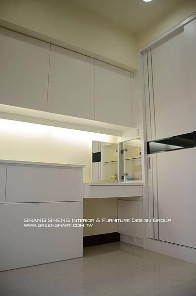 高雄室內設計- 民族路 赫米斯--主臥室2