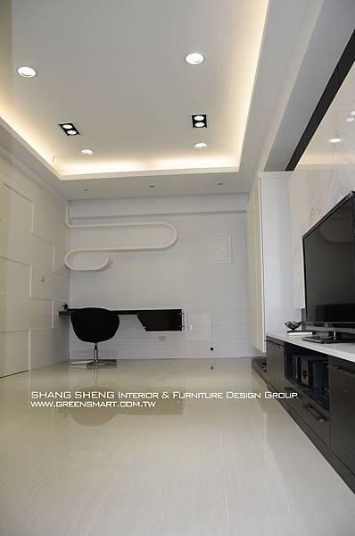 高雄室內設計- 民族路 赫米斯--客廳1