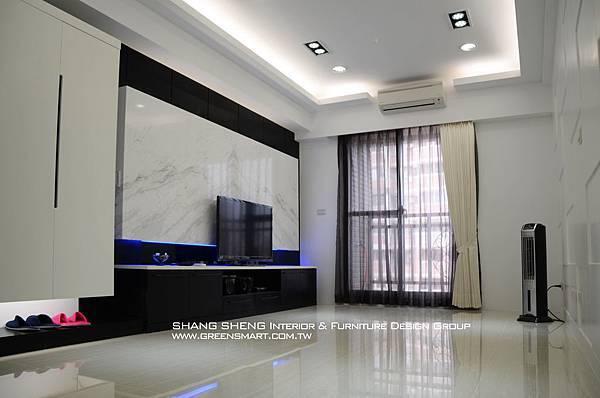 高雄室內設計- 民族路 赫米斯--客廳3