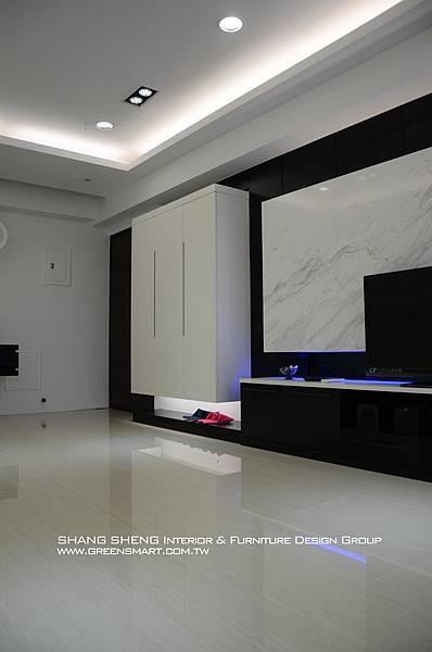 高雄室內設計- 民族路 赫米斯--客廳4