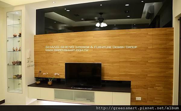高雄室內設計- 聯上大囍市--客廳3