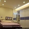 高雄室內設計-鳳山 鳳捷路 8主臥室