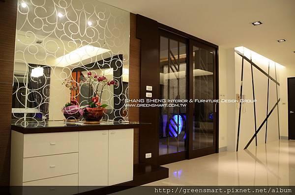 高雄室內設計- 鳳甲特區 翁公館--走道造型5.jpg