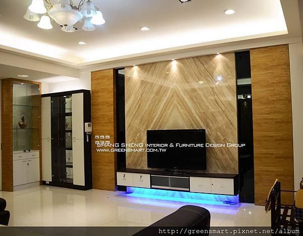 高雄室內設計- 仁武 雙車別墅設計--1客廳.jpg