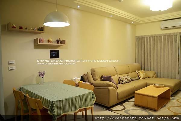 高雄室內設計- 百達麗緻 - 6客廳.jpg