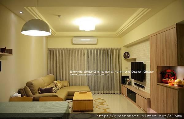 高雄室內設計- 百達麗緻 - 2客廳.jpg