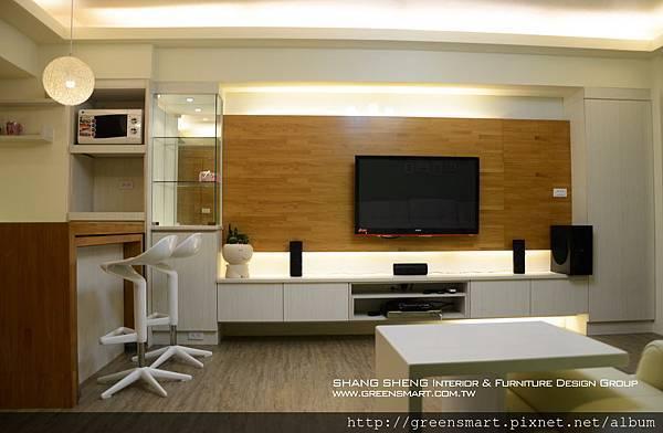 台南室內設計- 北歐loft宅--1客廳.