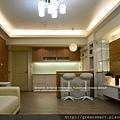 台南室內設計- 北歐loft宅--2客廳