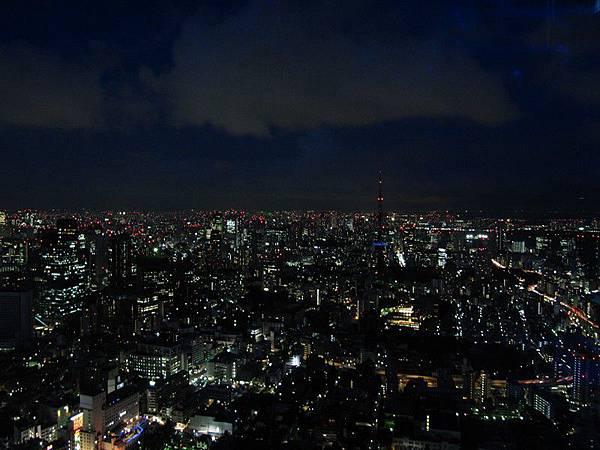 森美術館頂樓夜景