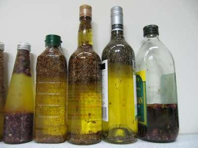 浸泡油,底油是costco的橄欖油