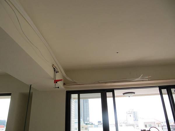 客廳冷氣管線
