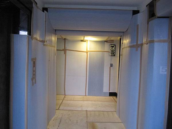 電梯側樓梯間保護