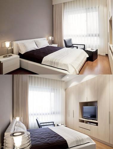 臥室電視牆