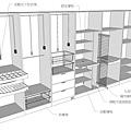 衣櫃設計參考