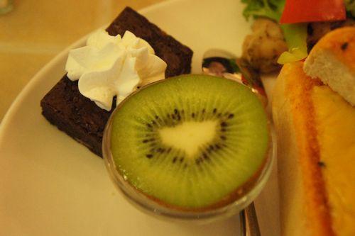 季節水果+手工甜點