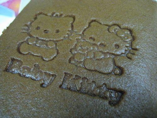 印著kitty的圖案