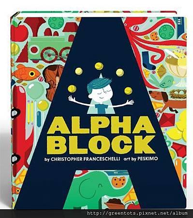 Alphabet Block - front