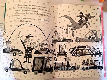 Kangaroo for Christmas - inside page