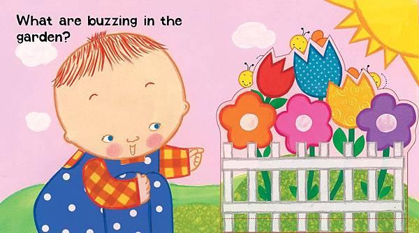 Buzz, Buzz, Baby! inside flip b