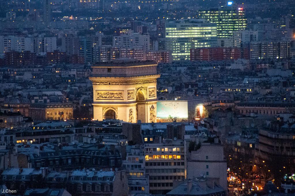 巴黎鐵塔-7833