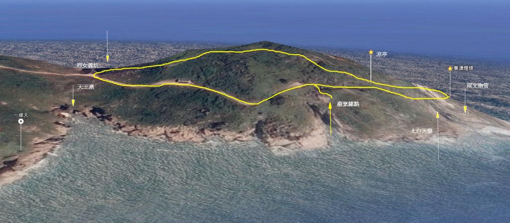 東引燈塔地圖-2