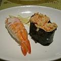 大蝦壽司+龍蝦沙拉壽司