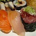 鮭魚+旗魚+鮪魚 壽司