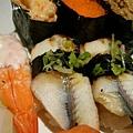 大蝦+鰻魚 壽司