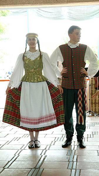 立陶宛傳統服飾
