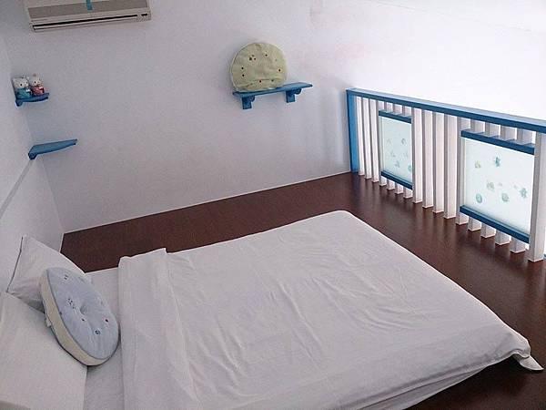 樓中樓可放兩塊床墊