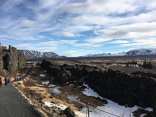 辛格維利爾國家公園大裂谷