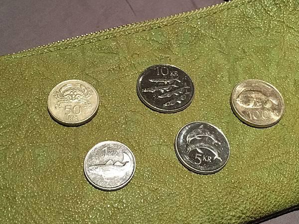 冰島克朗錢幣